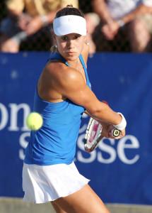 Nina Stadler erwies sich in der NLA-Saison 2013 als zuverlässige Punktelieferantin. (Bild: Mario Gaccioli)