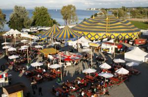 So sah das Zeltfestival früher mal aus, bevor es 2008 eingestellt wurde. (Bild: Koko)