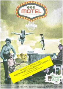 Theaterplakat vom «Motel». (Bild: zvg)