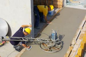 Auf Baustellen gibt es immer viel zu tun. (Bild: Archiv)