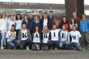Tägerwiler Fans in Zürich. (Bild: zvg)