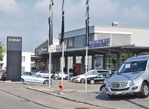 Anfang August wurden zwölf Mercedes aus der Garage Lang entwendet. (Bild: Thomas Martens)