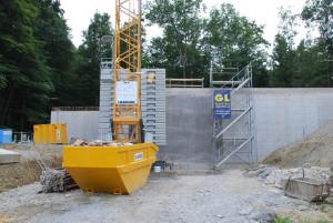 Das neue Reservoir oberhalb von Scherzingen. (Bild: zvg)