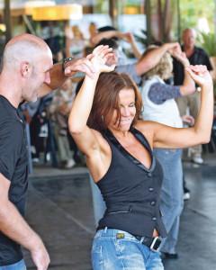 In der Tanzschule Robinson hat man schnell den Dreh raus. (Bild: zvg)