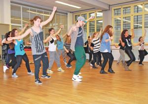 Auch moderner Tanz wird im Tanzzentrum angeboten. (Bild: tm)