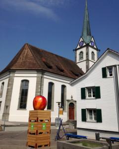Altnau ist das Apfeldorf und lädt am Samstag zum Herbstmarkt. (Bild: zvg)