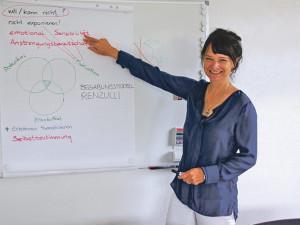 Fachfrau Monika Dudler fördert und begleitet Hochbegabte und lernschwache Kinder, berät Eltern und Lehrpersonen, hält Workshops und Referate. (Bild: sb)