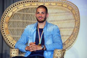 Kariem Hussein anlässlich der Ehrung in Tägerwilen. (Bild: tm)