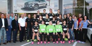 Die Damen des HSC Kreuzlingen. (Bild: zvg)