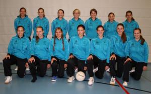 Die beiden Frauenteams des TSV Altnau-Alterswilen. (Bild: zvg)