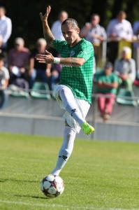 Der Abwehrspieler Vincenzo Zinna in Aktion. (Bild: zvg)