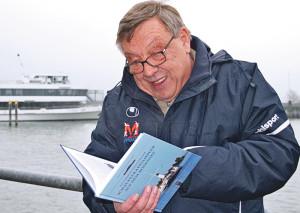 Karl F. Fritz ist Schiffsexperte «Bodenseekarle». (Bild: zvg)