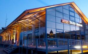 Die Lyriknacht findet in der Spiegelhalle des Stadttheaters statt.(Bild: zvg)