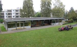 Der Kindergarten Weinburg wird durch einen Neubau ersetzt. (Bild: Emil Keller)