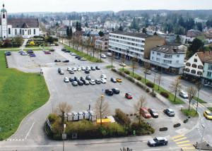 Jedes einzeln oder alle zusammen? Die Projekte Stadthaus, Tiefgarage und Festwiese sorgen für Diskussionen. (Bild: archiv)