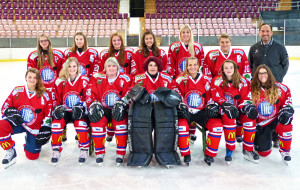 Das neue Damenteam des EHCKK. (Bild: zvg)