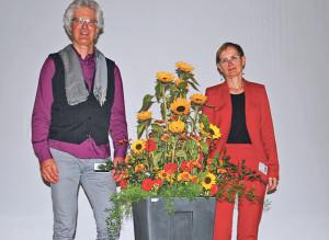 Roland Badertscher und Regula Lüthi von den Psychiatrischen Diensten Thurgau organisieren den Infotag. (Bild: Thomas Martens)
