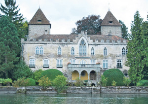 Das Schloss Gottlieben, Wahrzeichen der kleinen Gemeinde. (Bild: Thomas Martens)