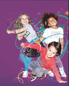 Mit Bewegung und Spass können Kinder bei aerobic.zone ihre Konzentration und Koordination verbessern. (Bild: zvg)