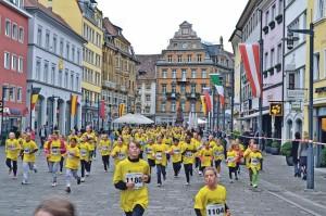 Auch die Jüngsten zeigen jedes Jahr vollen Einsatz beim Altstadtlauf. (Bild: zvg)