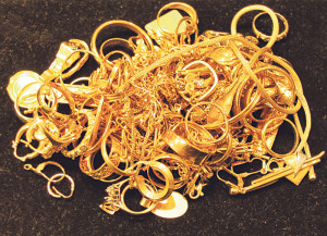 Auch Gold ist zu haben. (Bild: Archiv)
