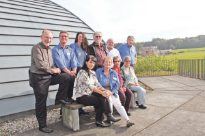 Nur ein kleiner Teil aller freiwilligen Helfer, welche den Planetarium- und Sternwartebetrieb überhaupt möglich machen. (Bild: ek)
