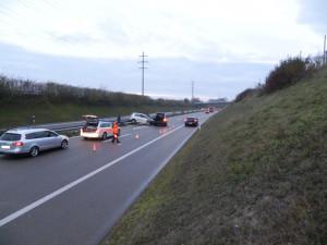 Bei der Kollision zweier Autos wurde niemand verletzt. (Bild: Kantonspolizei Thurgau)