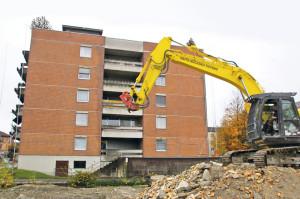Die Konstanzerstrasse Süd ist zur Zeit eine grosse Baustelle. Aber nicht überall muss man sich Sorgen machen, dass Bagger anrücken. (Bild: sb)