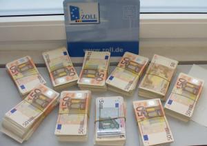 So sehen 200000 Euro aus. (Bild: Zoll)