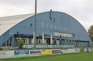Die Bodensee-Arena istGarant für heisse Diskussionen im Rat. (Bild: sb)