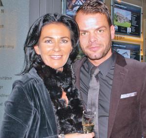 Stilsichere Gastgeber: Elke Odermatt und Ralf Scherer.