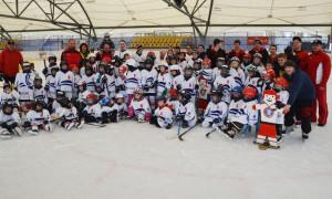 Mit 115 Kindern war der Swiss Ice Hockey Day in Kreuzlingen erneut ein voller Erfolg. (Bild: Thomas Martens)