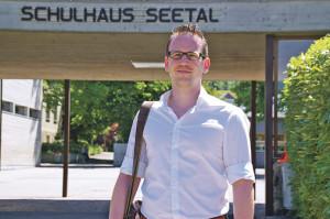 Ein Aufsteiger: Bei der Ersatzwahl in die Primarschulbehörde erhielt FDP-Kandidat Michael Stahl in diesem Jahr die meisten Stimmen. (Bild: sb)