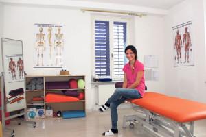 Olivera Murer Tasic in ihrem neuen Behandlungszimmer. (Bild: ek)