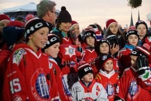 Die erfolgreichen Eishockey-Aktivisten. (Bild: zvg)