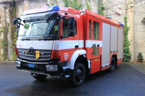 Das neue Löschfahrzeug im Depot Rosenegg. (Bild: Sebastian Schaad)