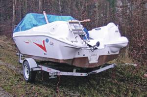 Boote wie dieses werden immer wieder gerne gestohlen. (Bild: Archiv)