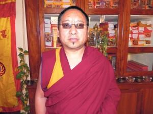 Gastlehrer Khenpo Konchok Mönlam aus Indien. (Bild: zvg)