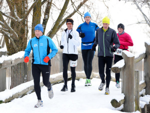Nur etwas für Hartgesottene - Laufen im Winter. (Bild: zvg)