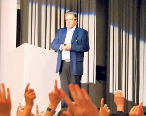 Gemeindeversammlung in Tägerwilen. (Bild: sb)