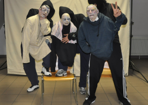 Proben in der JVA Konstanz. (Bild: Theater Konstanz)