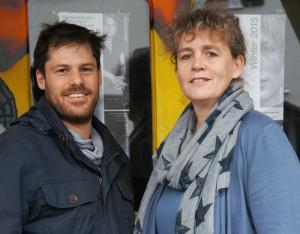 Simon Hungerbühler und Birgit Auwärter leiten jetzt das Theater an der Grenze. (Bild: zvg)