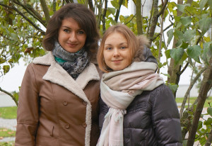 Ina Kryshtopik und Aksana Bubnova. (Bild: zvg)
