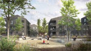 So könnte der ehemalige Migros-Parkplatz einst aussehen. (Bild: zvg)
