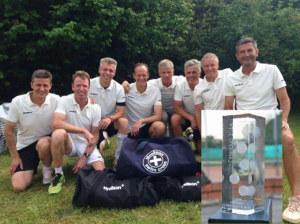 Die Tennis-Senioren vom TC Hörnli stehen als Mannschaft zur Wahl. (Bild: zvg)