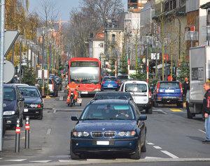 Der Boulevard ist die Haupteinkaufsstrasse Kreuzlingens. (Bild: archiv)
