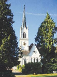 Nach der Sanierung der Stadtkirche nimmt sich die Kirchenvorsteherschaft nun das Gemeindehaus vor. (Bild: archiv)