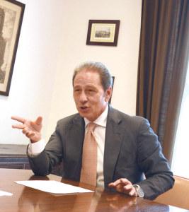 Botschafter Cosimo Risi besucht Kreuzlingen. (Bild: zvg)