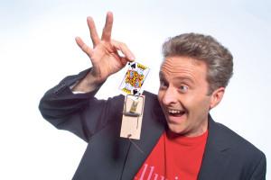 Der Illusionist Markus Gabriel begeistert sein Publikum weltweit. (Bild: tm)