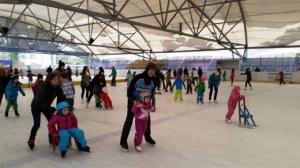 Spass beim Eislaufen für gross und klein. (Bild: zvg)